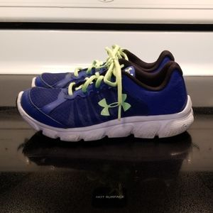Under Armour youth sneakers